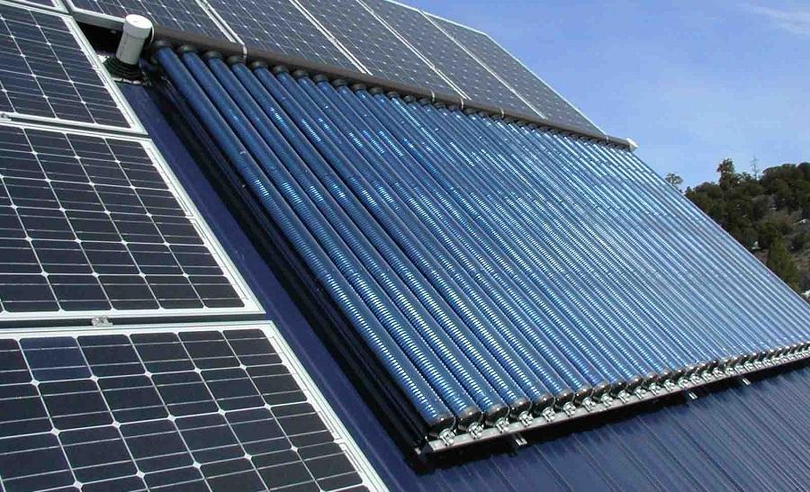 dachowe kolektory słoneczne